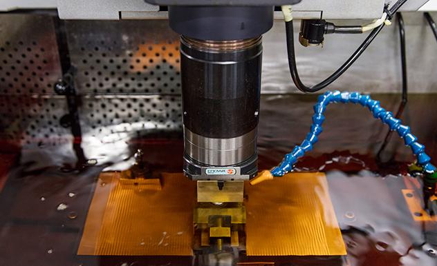 形彫り放電加工
